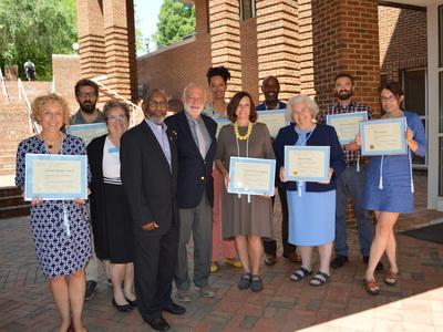 FES graduates with certificates