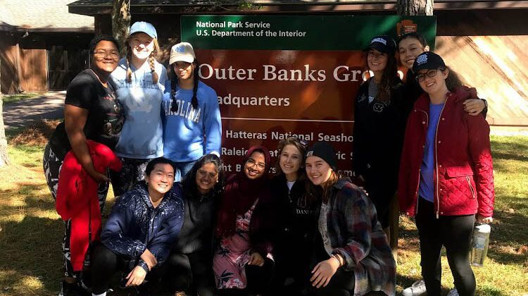 The APPLES Alternative Fall Break 2019 cohort focused on environmental issues