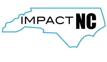 Impact NC inside outline of the state of north carolina