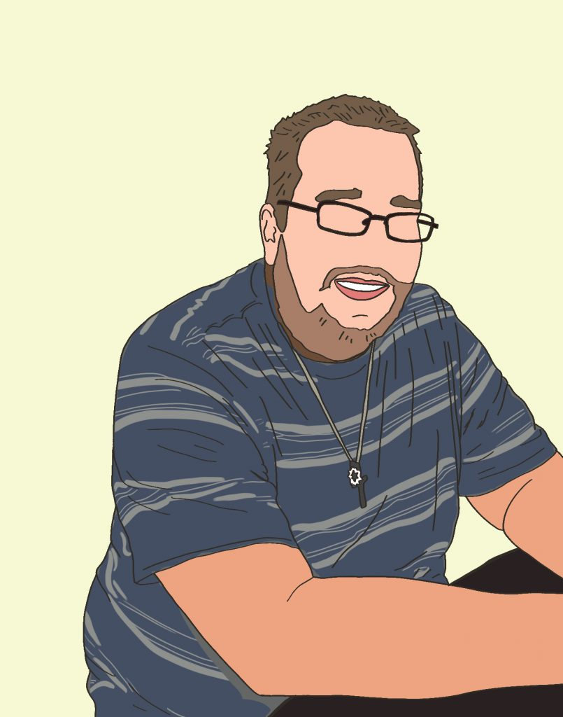 Portrait of Jeffrey Harlow